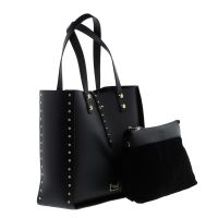 SHOPING BAG TRUSSARDI ΜΑΥΡΟ